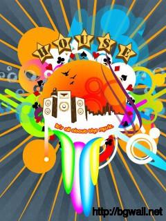 colorful-art-house-music-wallpaper