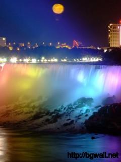 colorful-niagara-waterfall-at-the-night-wallpaper-hd