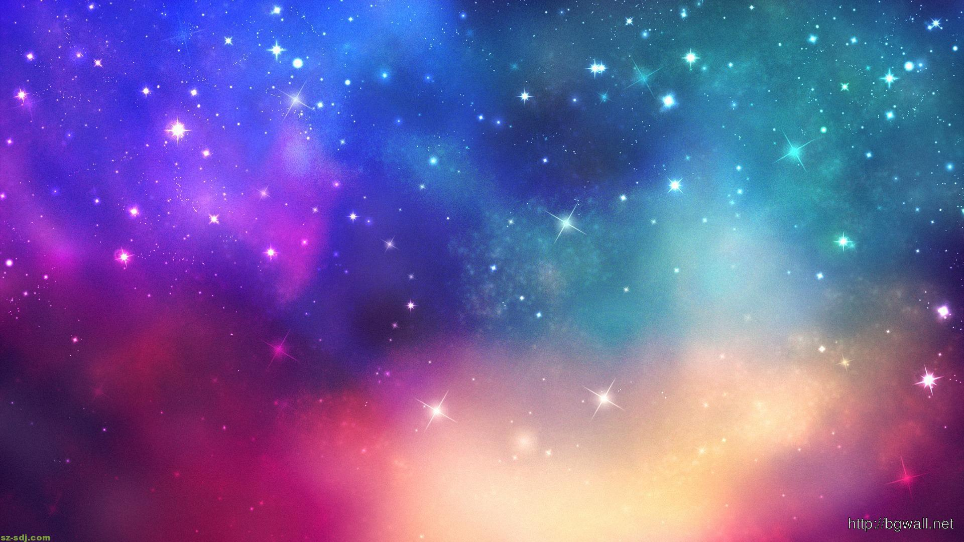 Colorful Star Galaxy Wallpaper High Definition