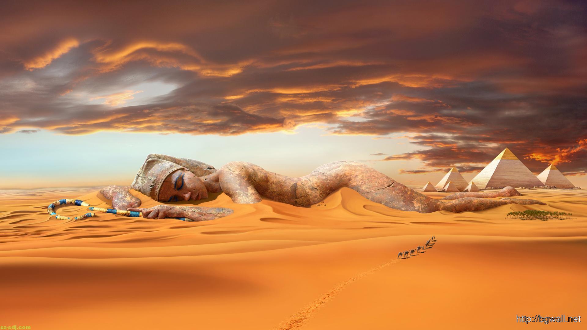 cool-art-desert-wallpaper