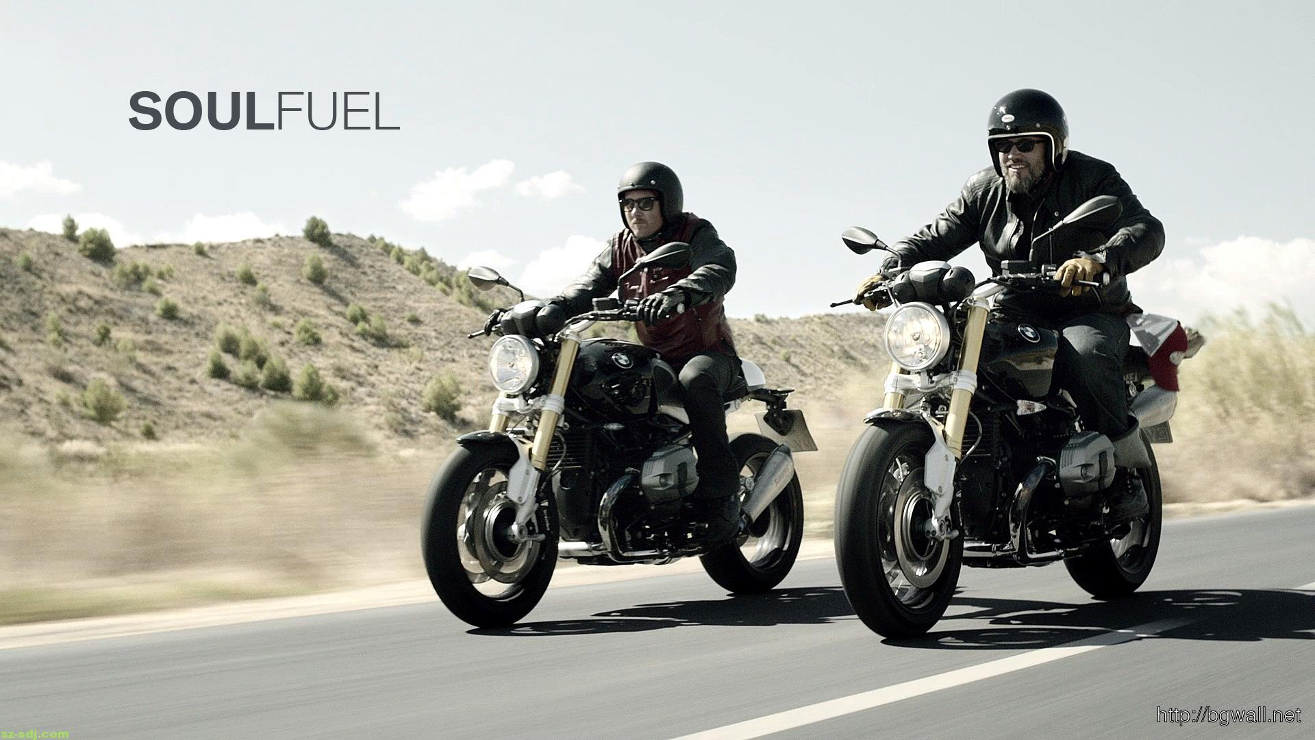 cool-bmw-r-ninet-2014-on-road-wallpaper