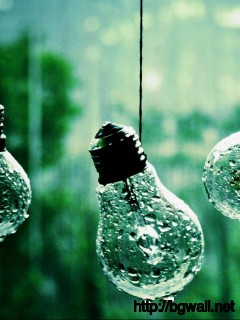 cool-bulb-drop-rain-wallpaper