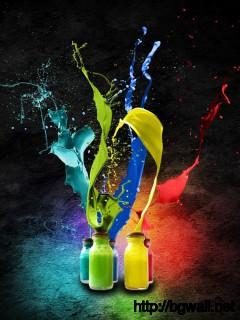 cool-colorful-paint-bottle-wallpaper