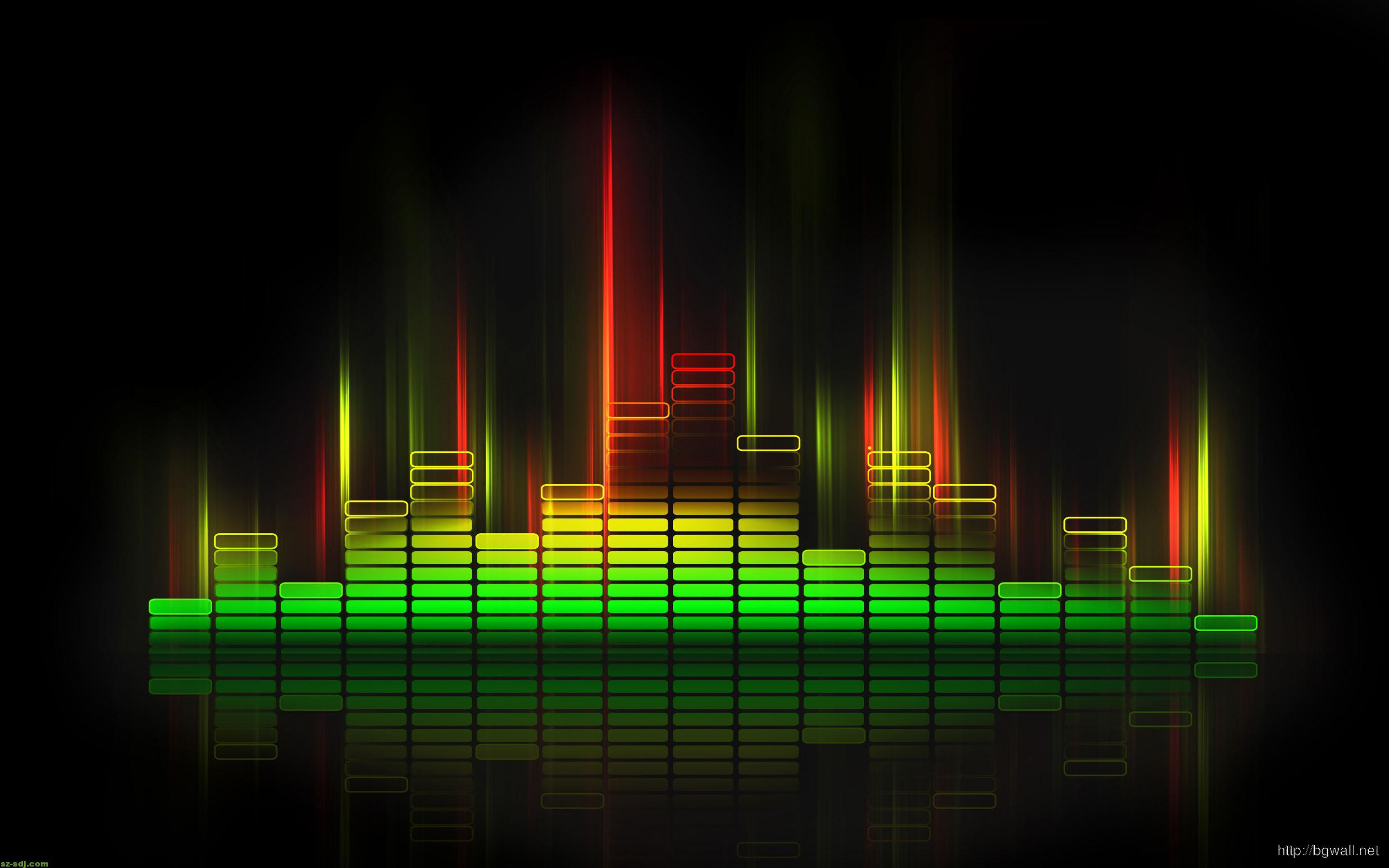 Music Equalizer Wallpaper: Cool Music Equalizer Desktop Wallpaper Hd