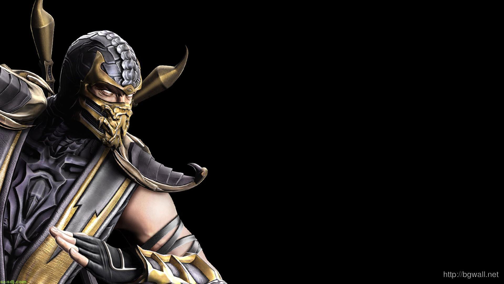 Cool Scorpion Mortal Kombal Wallpaper Hd Background