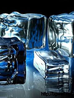 crystal-ice-cube-3d-wallpaper
