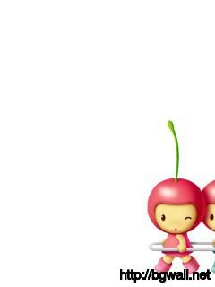 cute-cherry-cartoon-wallpaper