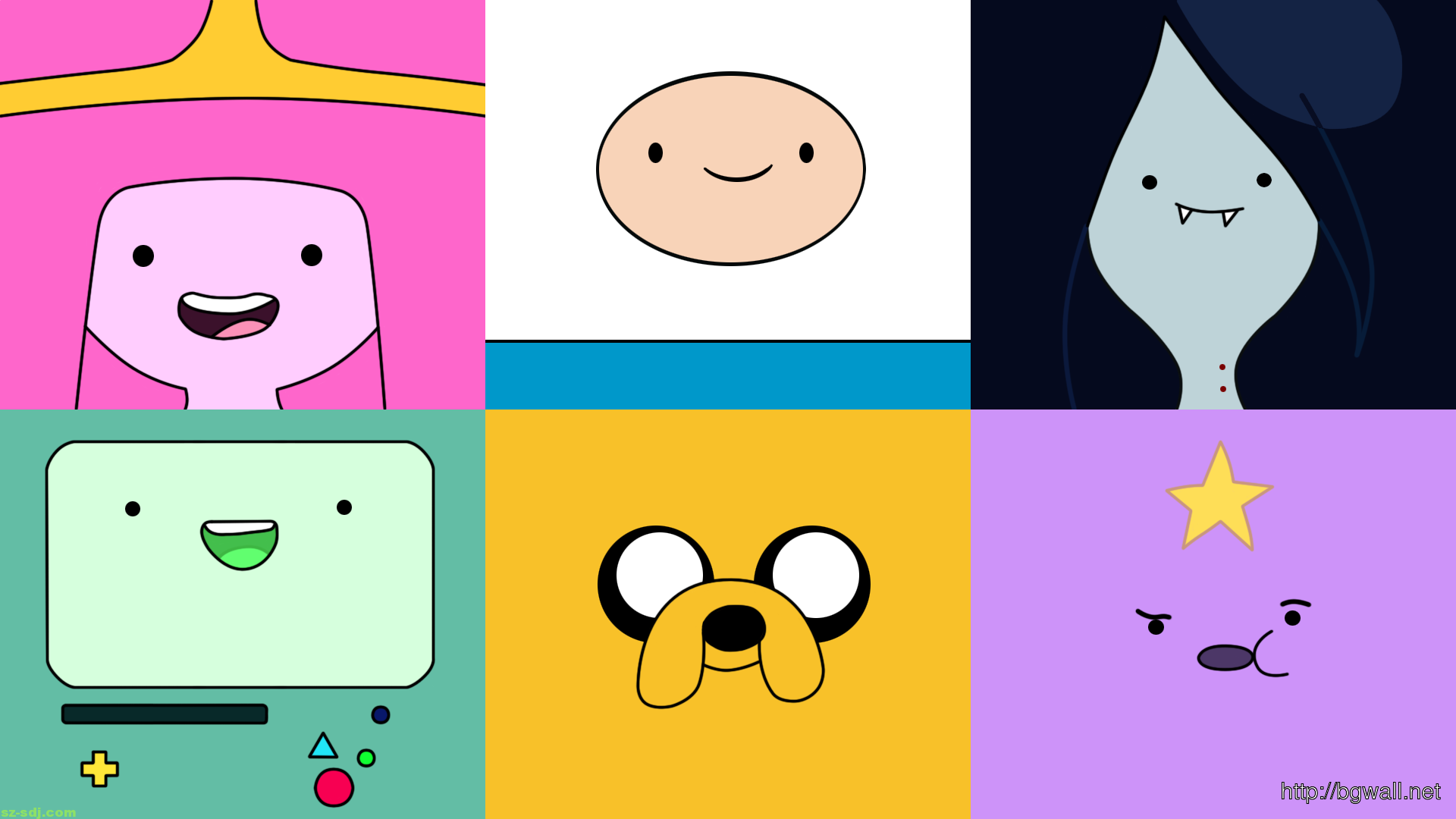 Cute face adventure time cartoons wallpaper background for Wallpaper home cartoon