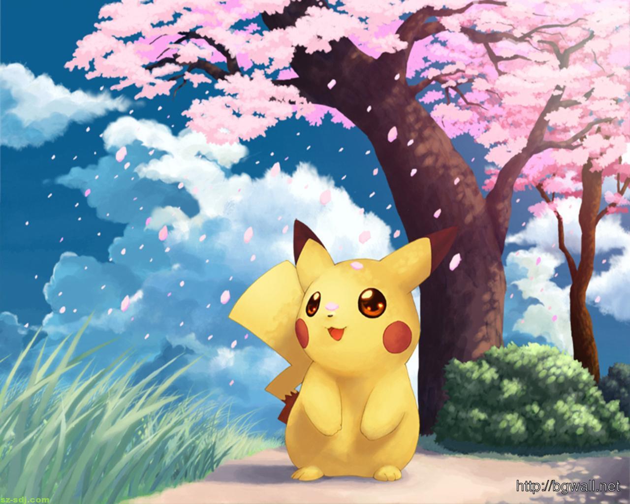 Cute Pikachu Pokemon W...
