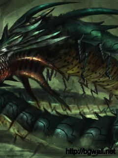 dragon-monster-centipede-wallpaper-high-resolution