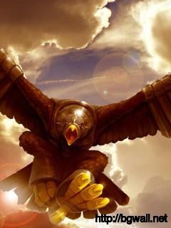 eagle-fly-art-wallpaper