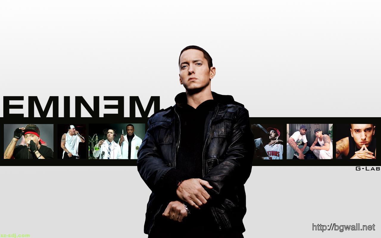 Eminem Cool Pose Wallpaper Hd