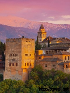 evening-at-alhambra-spain-wallpaper-widescreen-hd