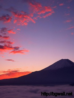 evening-at-mount-fuji-japan-wallpaper-desktop-hd