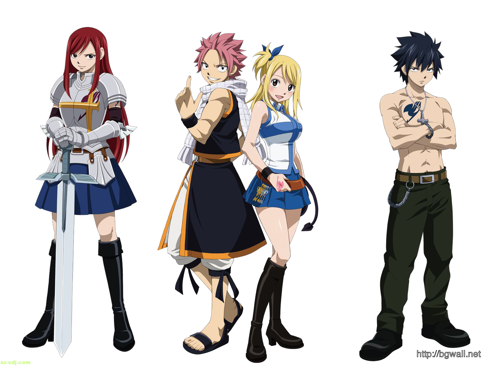 Fairy Tail Cool Pose Wallpaper