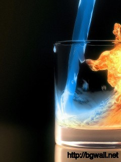 fire-ice-3d-image-wallpaper