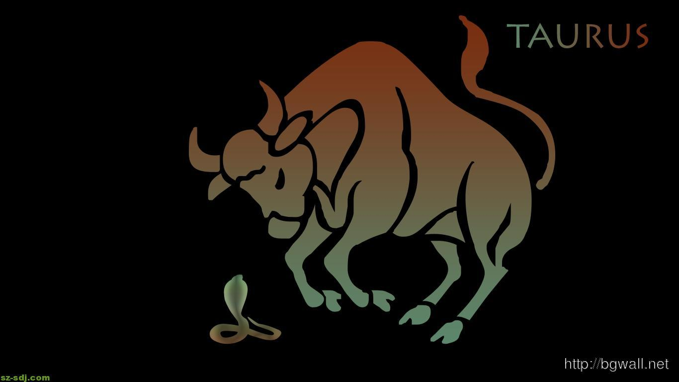 free-taurus-wallpaper-with-black-background-hd