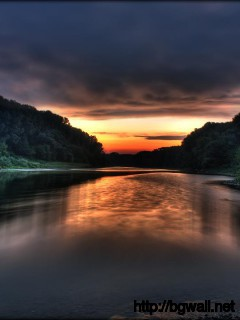 fresh-river-sunset-desktop-wallpaper