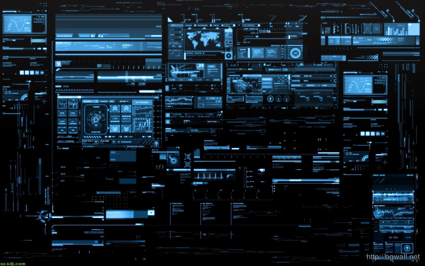 high definition technology wallpapers: Future Technology Wallpaper High Definition