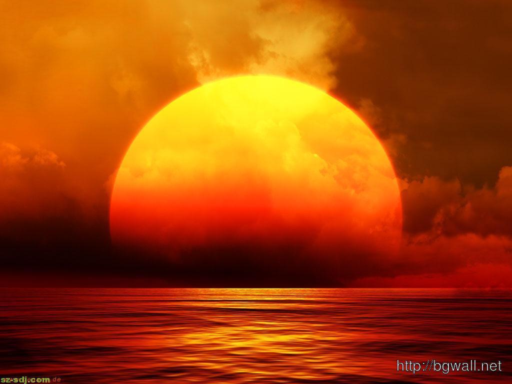 giant sunset wallpaper image � background wallpaper hd