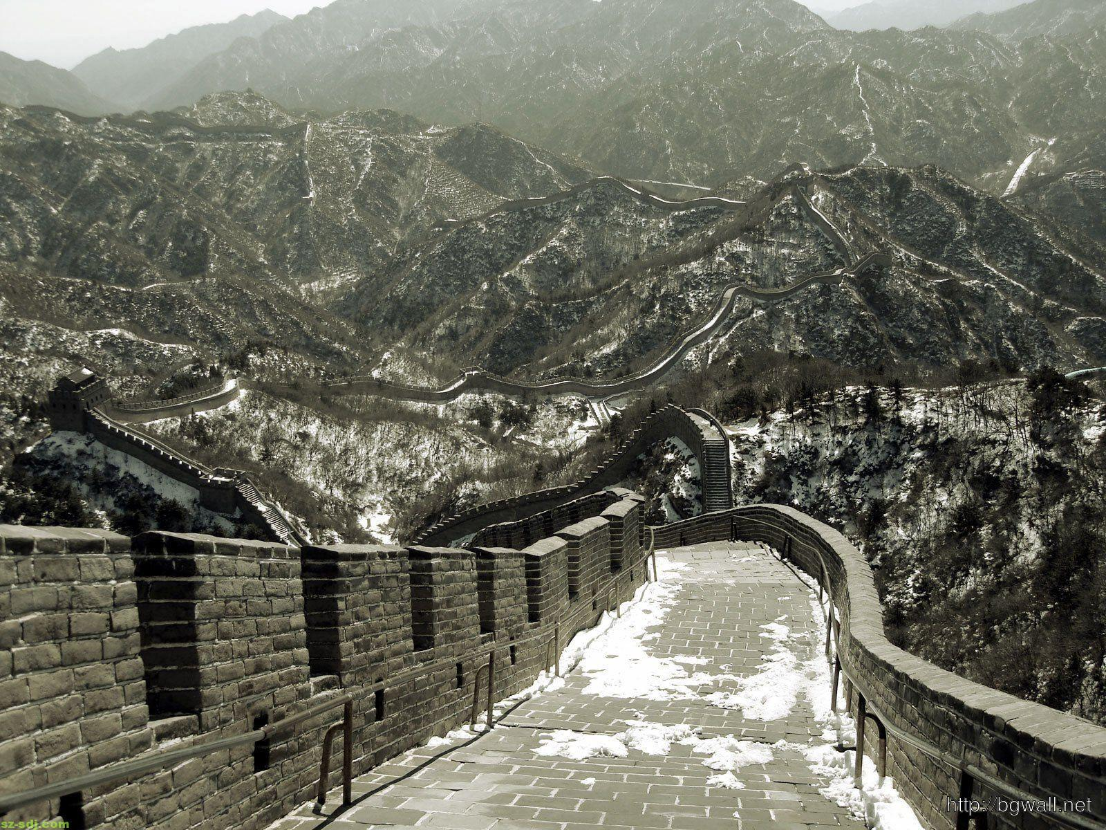 Great Walls China Ancient Photography Wallpaper Computer