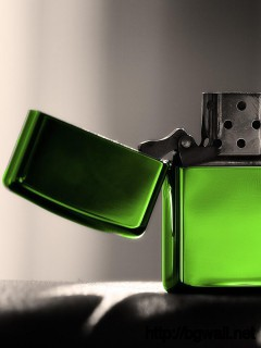 green-zippo-lighter-wallpaper