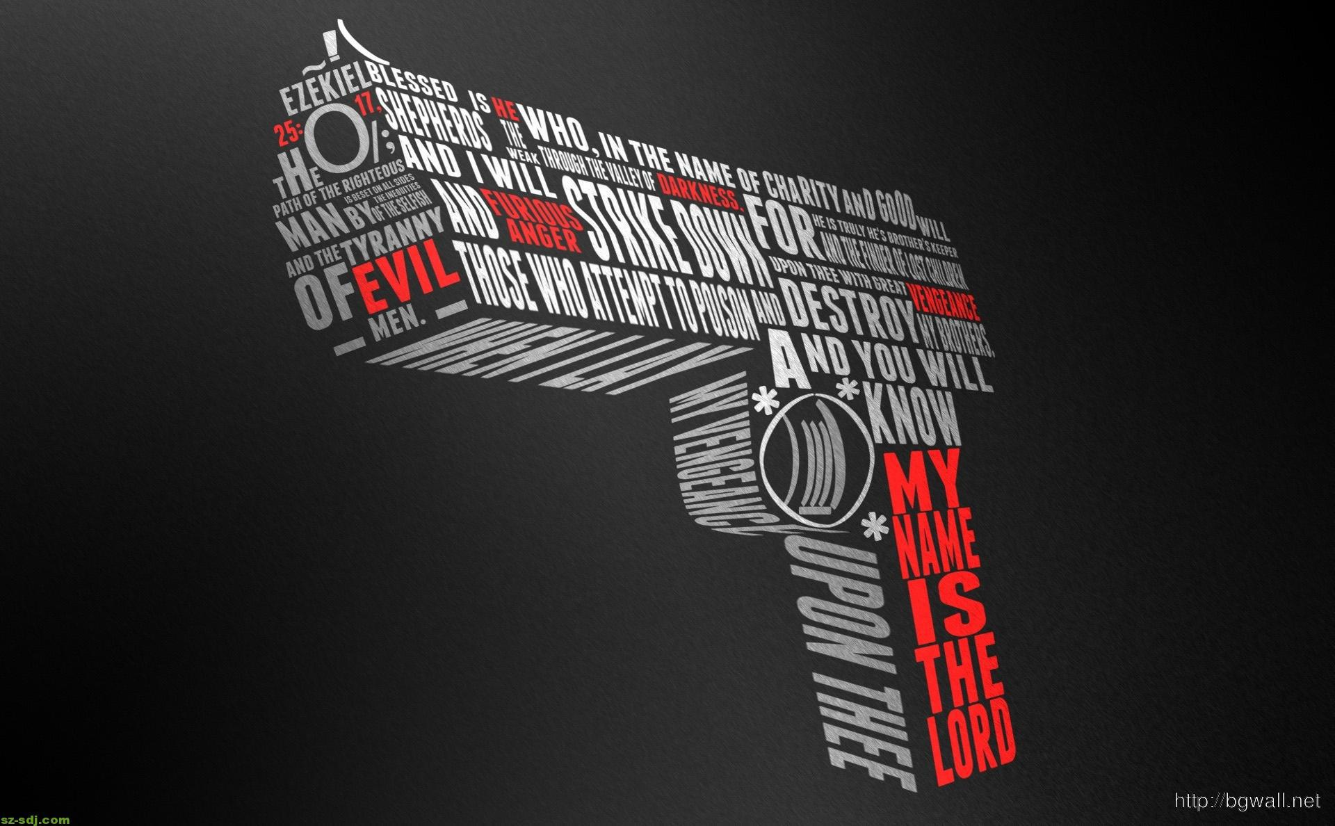 gun-typography-desktop-wallpaper