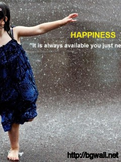 happiness-rain-quote-wallpaper