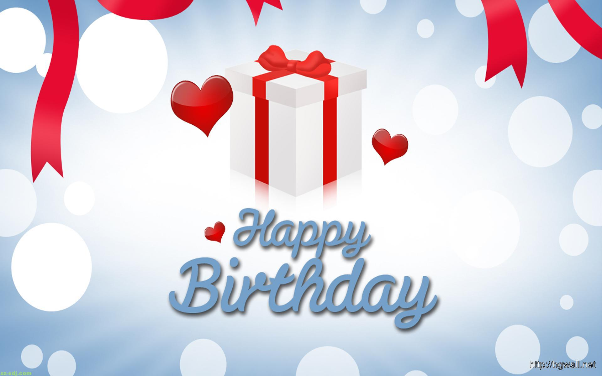 Happy Birthday Wallpaper Free Download Background