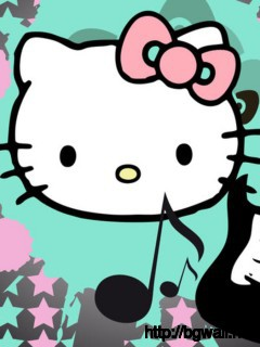 hello-kitty-with-guitar-wallpaper-hd