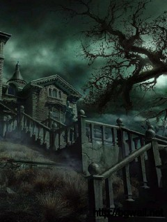 horror-house-wallpaper-background