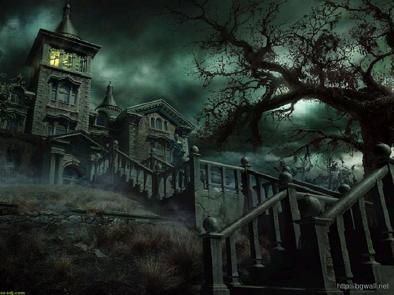 horror-house-wallpaper-background